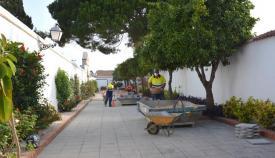 Las obras ya han comenzado en el Cementerio de San Miguel