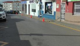 Pintado de la señalización en todo el municipio de San Roque