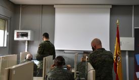 Militares de San Roque, en la Operación 'Misión Baluarte', de rastreo Covid
