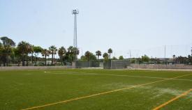 Una de las instalaciones deportivas del municipio de San Roque