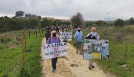 Imagen de la marcha convocada por Verdemar y la Flavi. Foto Verdemar