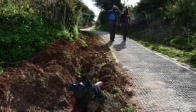 La cañada que une Pueblo Nuevo y Guadiaro contará con mejoras. Foto Multimedia