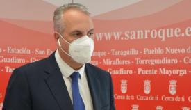 El alcalde de San Roque, Juan Carlos Ruiz Boix.