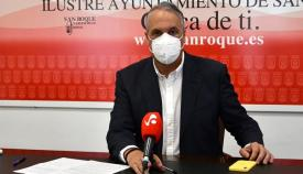 El alcalde de San Roque, Juan Carlos Ruiz Boix. Foto: Multimedia
