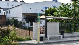 Imagen de la parada de autobús de Taraguilla