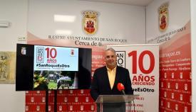 Juan Carlos Ruiz Boix, alcalde de San Roque. Foto: sanroque.es