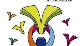 Cartel de la Semana de las Bibliotecas. Foto MSR