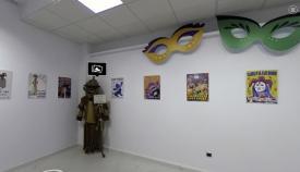 Aspecto de la muestra virtual de Carnaval en San Roque. Foto Multimedia