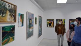 Inauguración de la exposición de Andrés Ojeda.