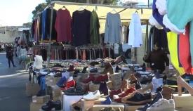 Imagen de archivo del mercadillo de San Roque