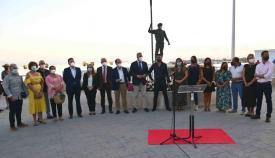 Inaugurado el paseo marítimo dedicado a Javier Beza. Foto: Multimedia