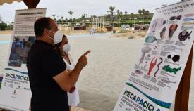 Recapacicla se ha presentado en la playa de Torreguadiaro