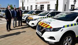 Algunos de los vehículos presentados hoy. Foto: Multimedia