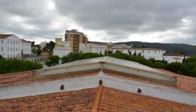 Imagen del techo del CEIP Carteia, en San Roque. Foto: Multimedia