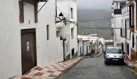 La borrasca Filomena continuará en la comarca durante hoy y mañana. Foto Multimedia