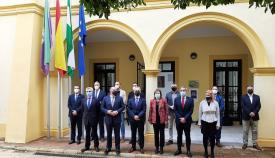Sandra García traslada el compromiso del Gobierno con la comarca