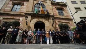 Algeciras guarda un minuto de silencio por el funcionario de Aduanas fallecido
