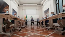 El Comité de Expertos de la Junta de Andalucía reunido ayer