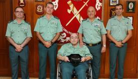 La Comandancia de Algeciras rinde homenaje al Guardia Civil Veterano