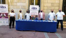 Landaluce apoya a Jarca en el Día Nacional sin Juegos de Azar