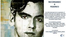 El colectivo 'Estrechando' rinde este miércoles un homenaje a García Lorca