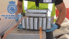 Parte de la droga intervenida por la Policía Nacional
