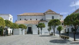Actual iglesia y Plaza de Amas, el lugar elegido por los gibraltareños para su romería