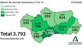Cádiz contabiliza ya seis personas fallecidas por coronavirus