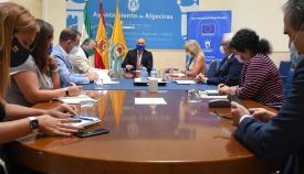 Ayuntamiento, Junta, Puerto, Cámara y CEC impulsan proyectos en Algeciras