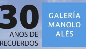 La Galéria 'Manolo Alés', de La Línea, cumple treinta años