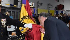 El alcalde de Algeciras reitera el apoyo hacia las Fuerzas Armadas