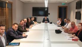Momento de la reunión. Foto GG