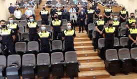 Diecisiete agentes en prácticas se incorporan a la Policía Local de Algeciras