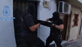 Nueve detenidos por regentar un punto de droga en La Bajadilla