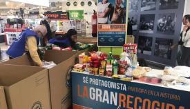 Diputación hace efectiva su ayuda de 15.000 euros al Banco de Alimentos