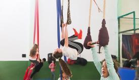 La Escuela Circo Volátil busca alzar el vuelo de nuevo. Foto: Fran Montes