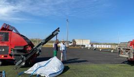 Sustituyen el césped artificial del campo de fútbol Nº1 de La Menacha