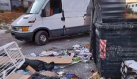 Impuestas ocho denuncias en un día por arrojar basuras en el Cortijo Real