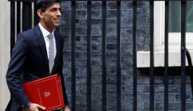 Imagen de archivo del ministro británico. Foto Reuters
