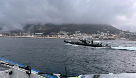 Embarcación que transportaba la droga. Foto NG