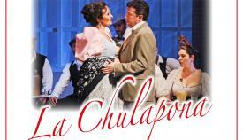 Cartel de la zarzuela La Chulapona en Gibraltar. Foto NG