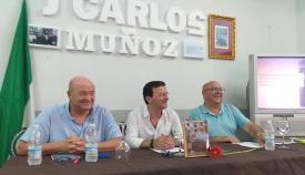 Presentación del libro de Juan Carlos Muñoz en Palmones