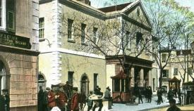 Imagen antigua del Parlamento