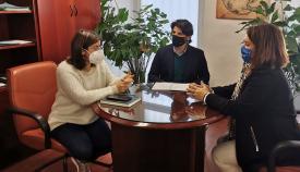 Algeciras plantea líneas de colaboración con Victoria Kent