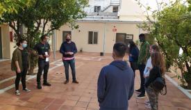 El Hospital Militar acoge un taller de mediación comunicativa con el teatro