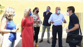 Junta y Ayuntamiento garantizan la reforma del colegio Campo de Gibraltar