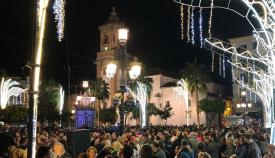 Adelante Algeciras critica el aumento del gasto para el alumbrado de Navidad