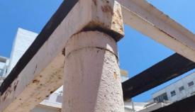 Vox Algeciras denuncia el estado ruinoso de la plaza Sur de Europa