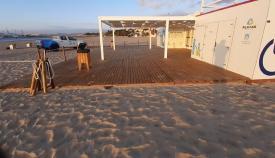 Localizados varios menores por dañar un módulo de playa en El Rinconcillo