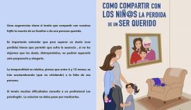 Presentan una guía orientada a la pérdida de familiares en los pequeños